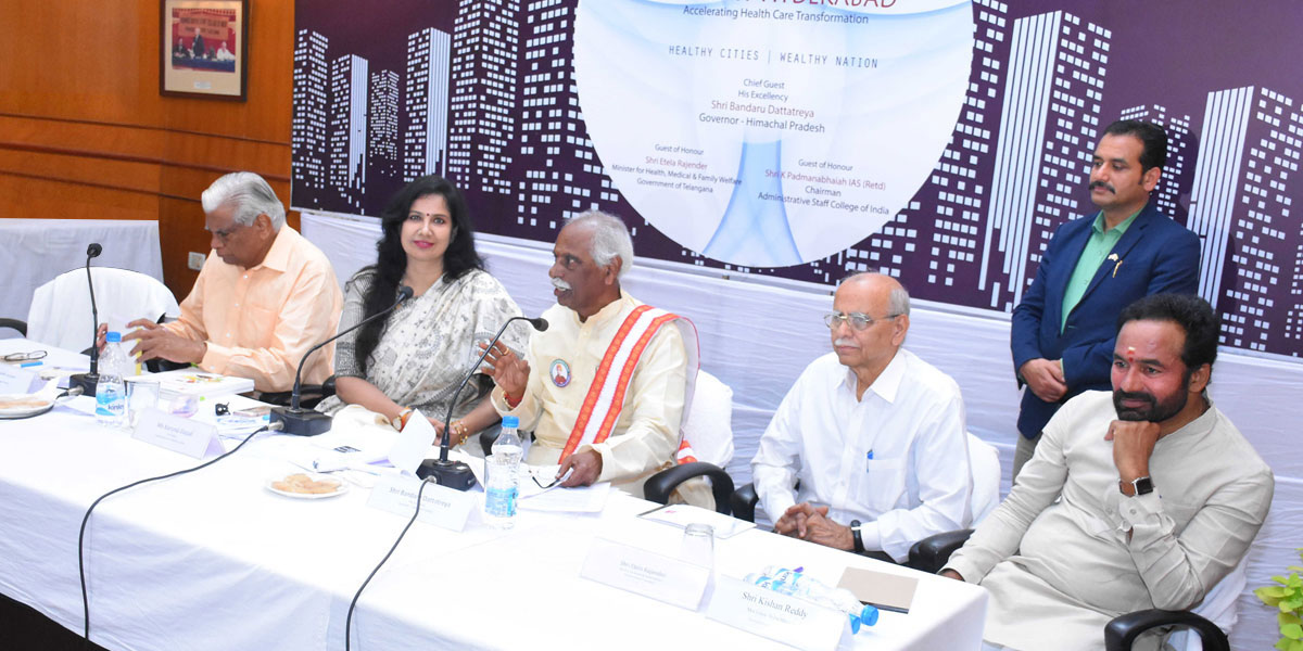 Chair-Roundtable on Healthy Cities –Wealthy Nation